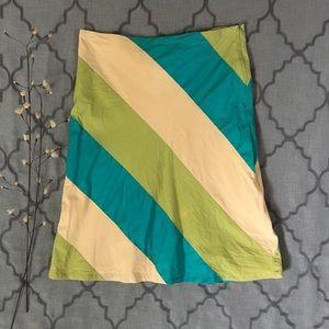 Side Stripe Anthropologie Brand Skirt
